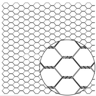 Galvanized Before weave(GBW)Hexagonal Netting